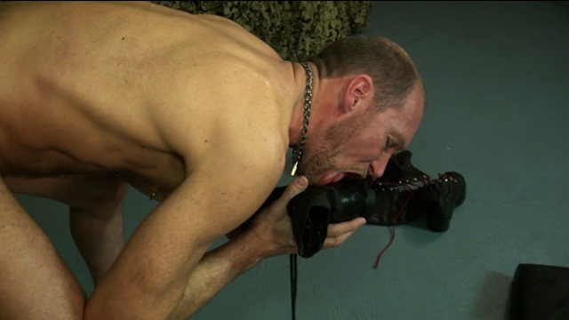 Raw and Rough huge dildo boot licking gay sex raw ass fucking no condoms 005 photo2 - Raw and Rough: Military Horse Cock pt 2