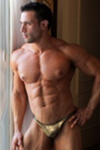 Joe Barkley Gallery 002 Ripped Muscle Bodybuilder Strips Naked and Strokes His Big Hard Cock for at Muscle Hunks photo1 - Muscle Hunks - Joe Barkley Gallery