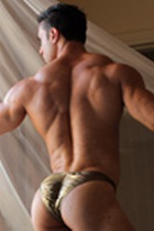 Joe Barkley Gallery 003 Ripped Muscle Bodybuilder Strips Naked and Strokes His Big Hard Cock for at Muscle Hunks photo1 - Muscle Hunks - Joe Barkley Gallery