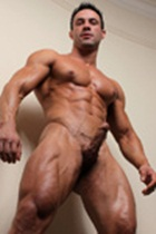 Joe Barkley Gallery 007 Ripped Muscle Bodybuilder Strips Naked and Strokes His Big Hard Cock for at Muscle Hunks photo1 - Muscle Hunks - Joe Barkley Gallery