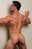 Joe Barkley Gallery 008 Ripped Muscle Bodybuilder Strips Naked and Strokes His Big Hard Cock for at Muscle Hunks photo1 - Muscle Hunks - Joe Barkley Gallery