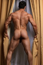 Joe Barkley Gallery 010 Ripped Muscle Bodybuilder Strips Naked and Strokes His Big Hard Cock for at Muscle Hunks photo1 - Muscle Hunks - Joe Barkley Gallery