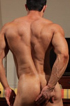 Joe Barkley Gallery 012 Ripped Muscle Bodybuilder Strips Naked and Strokes His Big Hard Cock for at Muscle Hunks photo1 - Muscle Hunks - Joe Barkley Gallery