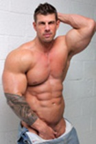 Zeb Atlas gallery 002 Ripped Muscle Bodybuilder Strips Naked and Strokes His Big Hard Cock for at Muscle Hunks photo1 - Muscle Hunks - Zeb Atlas Gallery