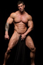 Zeb Atlas gallery 003 Ripped Muscle Bodybuilder Strips Naked and Strokes His Big Hard Cock for at Muscle Hunks photo1 - Muscle Hunks - Zeb Atlas Gallery