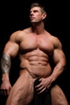 Zeb Atlas gallery 004 Ripped Muscle Bodybuilder Strips Naked and Strokes His Big Hard Cock for at Muscle Hunks photo1 - Muscle Hunks - Zeb Atlas Gallery