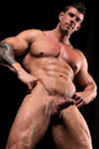 Zeb Atlas gallery 008 Ripped Muscle Bodybuilder Strips Naked and Strokes His Big Hard Cock for at Muscle Hunks photo1 - Muscle Hunks - Zeb Atlas Gallery