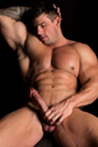 Zeb Atlas gallery 009 Ripped Muscle Bodybuilder Strips Naked and Strokes His Big Hard Cock for at Muscle Hunks photo1 - Muscle Hunks - Zeb Atlas Gallery
