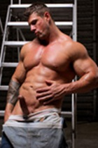 Zeb Atlas gallery 011 Ripped Muscle Bodybuilder Strips Naked and Strokes His Big Hard Cock for at Muscle Hunks photo1 - Muscle Hunks - Zeb Atlas Gallery