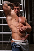 Zeb Atlas gallery 012 Ripped Muscle Bodybuilder Strips Naked and Strokes His Big Hard Cock for at Muscle Hunks photo1 - Muscle Hunks - Zeb Atlas Gallery
