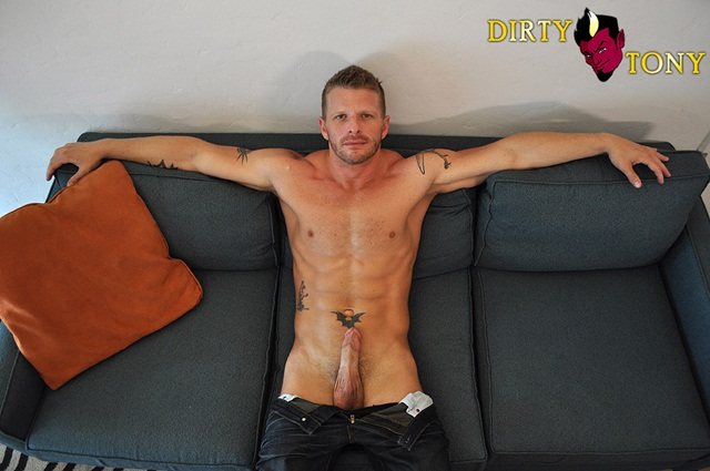 Jeremy Stevens blond cum lover is into hairy guys and multiple partners at Dirty Tony 2 Ripped Muscle Bodybuilder Strips Naked and Strokes His Big Hard Cock photo1 - Jeremy Stevens blond cum lover is into hairy guys and multiple partners at Dirty Tony