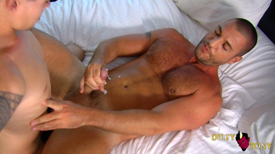 Young pup Mitchell Waters fucks older guy Parker at Dirty Tony 08 Ripped Muscle Bodybuilder Strips Naked and Strokes His Big Hard Cock photo image1 - Young pup Mitchell Waters fucks older guy Parker at Dirty Tony