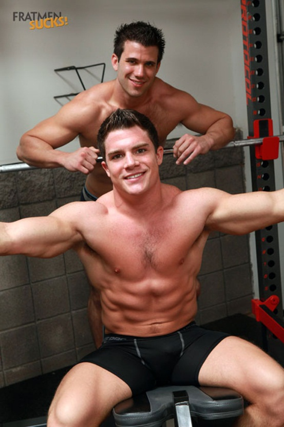 Fratmen Cole and Trent the big cock guys get friendly down in the gym 04 Young nude Boy Twink Strips Naked and Strokes His Big Hard Cock photo1 - Fratmen Cole and Trent the big cock guys get friendly down in the gym