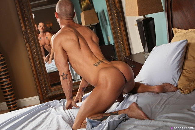 Stroking cock with Rod Daily 03 Ripped Muscle Bodybuilder Strips Naked and Strokes His Big Hard Cock torrent photo1 - Stroking cock with Rod Daily