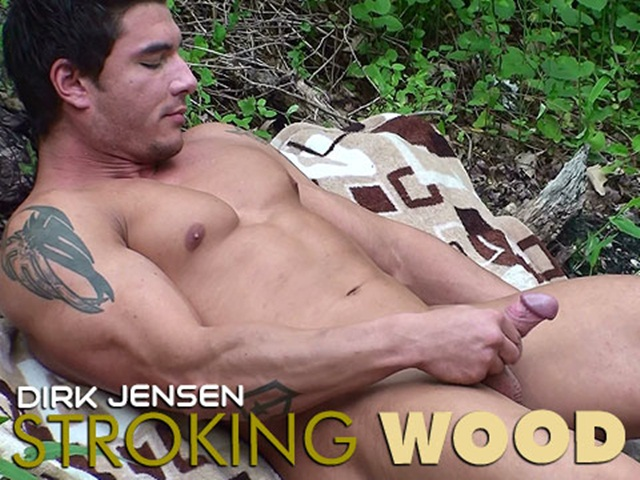 Dirk Jenson stroking wood at Mission 4 Muscle 1 Ripped Muscle Bodybuilder Strips Naked and Strokes His Big Hard Cock photo1 - Dirk Jenson stroking wood at Mission 4 Muscle