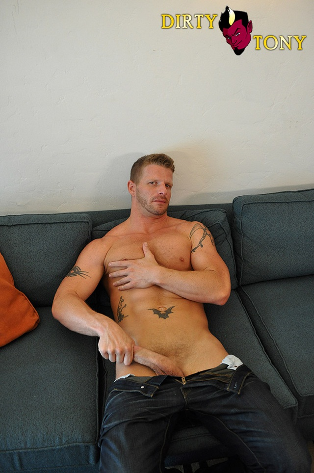 Jeremy Stevens blond cum lover is into hairy guys and multiple partners at Dirty Tony 3 Ripped Muscle Bodybuilder Strips Naked and Strokes His Big Hard Cock photo1 - Jeremy Stevens blond cum lover is into hairy guys and multiple partners at Dirty Tony