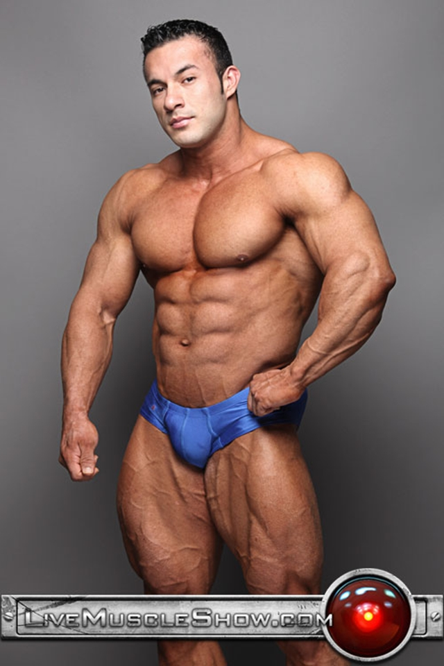 Live nude bodybuilder webcam chat Anton Buttone Ripped Muscle Bodybuilder Strips Naked and Strokes His Big Hard Cock torrent photo - Top 100 world's sexiest naked bodybuilders at Live Muscle Show (1-10)
