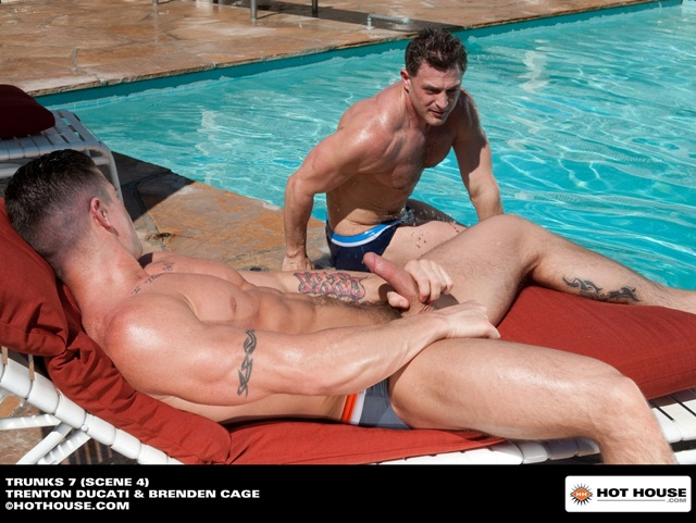 Trenton Ducati and Brenden Cage at Hothouse