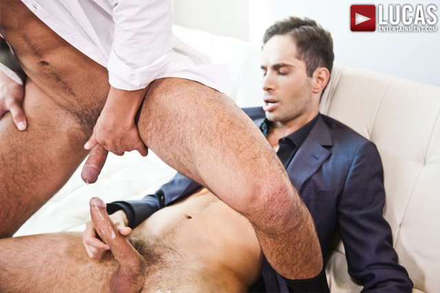 lucas entertainment  Michael Lucas and Seth Treston