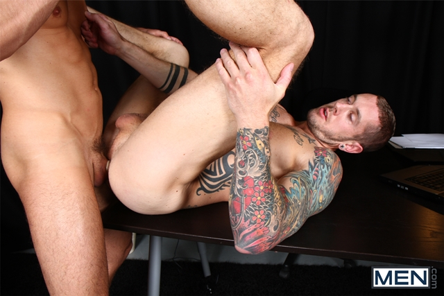 men  Jay Roberts and Harley Everett