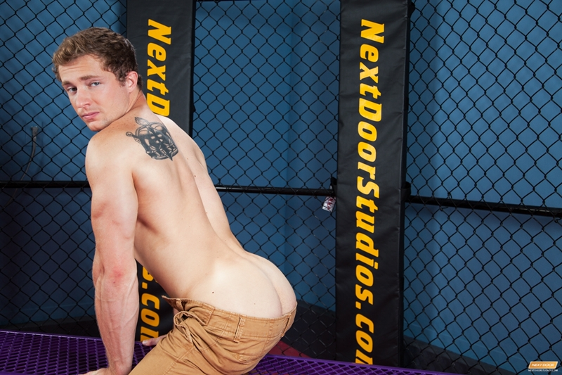 next door world  NextDoorWorld Markie More Pierce Hartman gym strips hard big dick reverse cowboy ass fucks cum 002 tube video gay porn gallery sexpics photo Markie More and Pierce Hartman