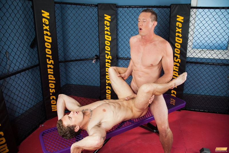 next door world  NextDoorWorld Markie More Pierce Hartman gym strips hard big dick reverse cowboy ass fucks cum 012 tube video gay porn gallery sexpics photo Markie More and Pierce Hartman