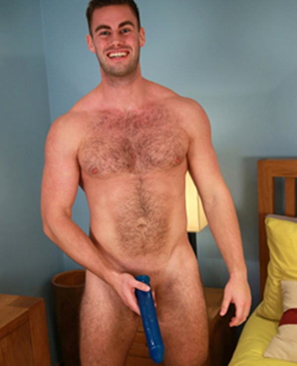 Whipped chest naked hunk