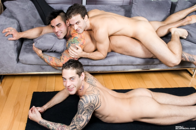 men of montreal  MenofMontreal Gabriel Clark suck Ben Rose fucks Emilio Calabria football horny young hunks soccer naked bare asses big dicks 001 tube video gay porn gallery sexpics photo Gay gang bang Gabriel Clark, Ben Rose & Emilio Calabria fucking