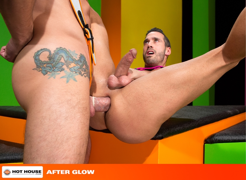 Hothouse Jimmy Durano rimming Alexy Tyler beard chin suck rock hard fucking muscular asses wad dick ass hot white load 013 tube video gay porn gallery sexpics photo - Alexy Tyler turns around to suck on Jimmy Durano's rock hard cock