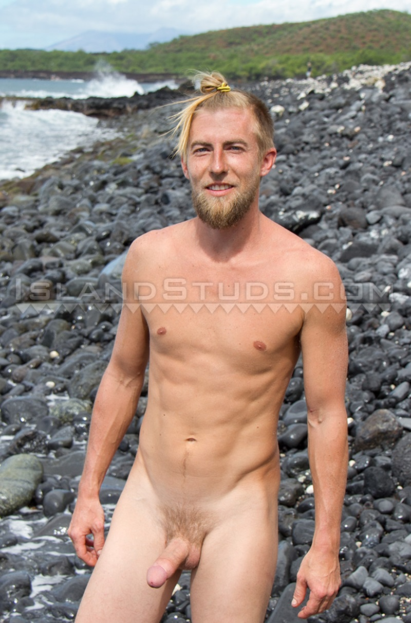 IslandStuds California surfer Jasper stroking naked smooth ripped hairy butt hole dirty farm boy jerks erect huge cock horny stud 008 gay porn sex porno video pics gallery photo - Sexy surfer dude Jasper jerking his rock hard Californian boy cock and hairy ball sack