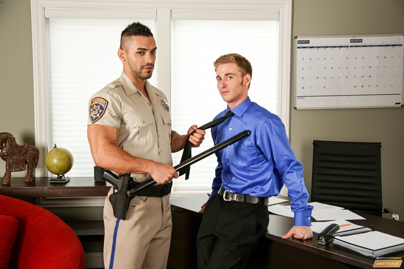 NextDoorWorld-naked-muscle-dudes-Harley-Hardman-cop-Arad-huge-thick-dick-army-uniform-missionary-position-wanks-cum-load-male-orgasm-02-gay-porn-star-sex-video-gallery-photo