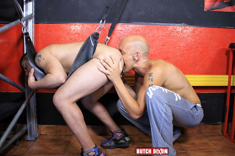 Dean Summers bareback fucks Fabian's raw ass hole