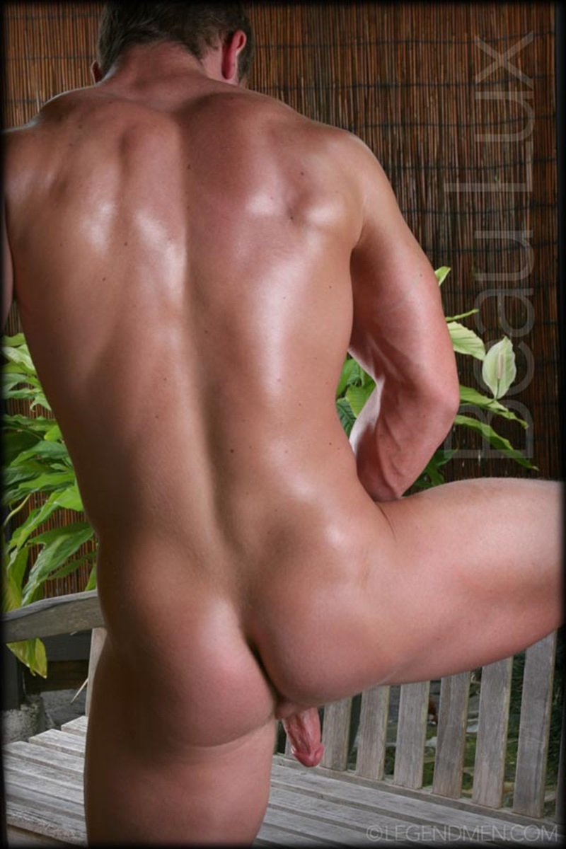 LegendMen Massive muscle hunk Beau Lux naked bodybuilder camouflage underwear thick cock shaved pubes wanks young muscle dude 10 gay porn star sex video gallery photo - Naked muscled hunk Beau Lux Legend Men's newest bodybuilder