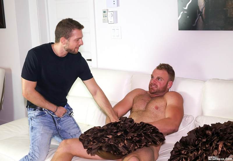 MenofMontreal naked muscle men Jimmy Dube Matthew Parker Hayden Colby massive cock horny ass straight guy balls fucking cocksucking 01 gay porn star sex video gallery photo - Mutual masturbation session Jimmy Dube and Matthew Parker