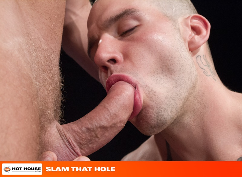 Hothouse-naked-tattooed-muscle-men-jock-strap-Buck-Richards-shaved-head-Logan-Moore-bare-ass-big-thick-long-uncut-cock-anal-rimming-fucking-008-gay-porn-sex-gallery-pics-video-photo