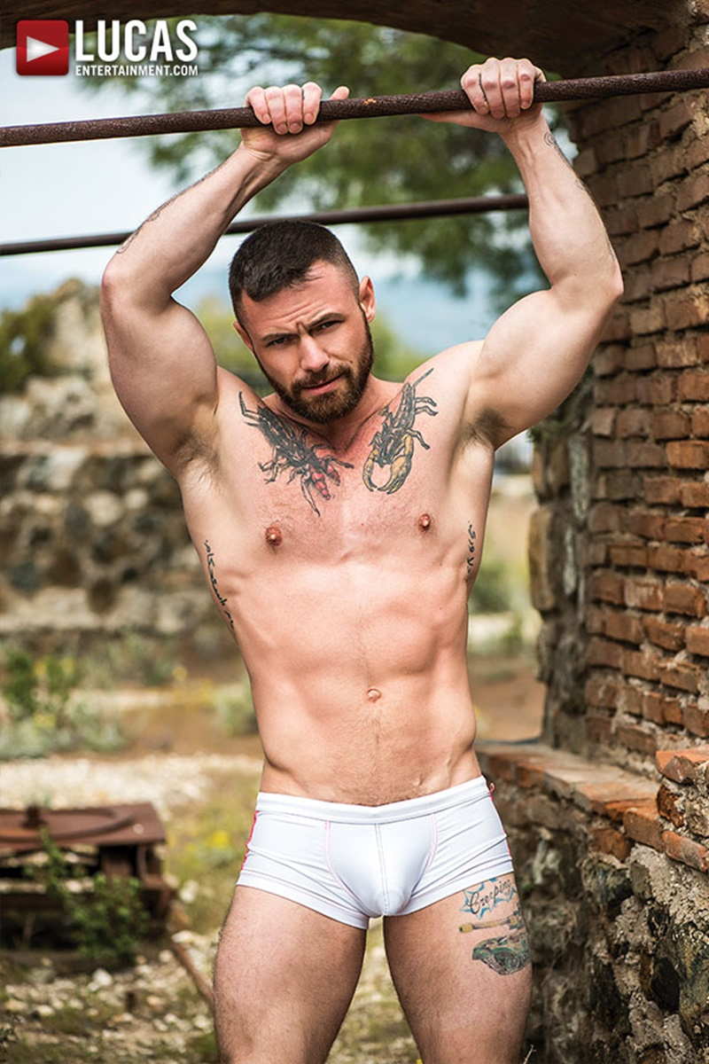LucasEntertainment-hairy-chest-big-muscle-hunk-Sergeant-Miles-James-Castle-tattoo-ripped-six-pack-abs-massive-erect-dick-fucking-anal-rimming-012-gay-porn-sex-gallery-pics-video-photo