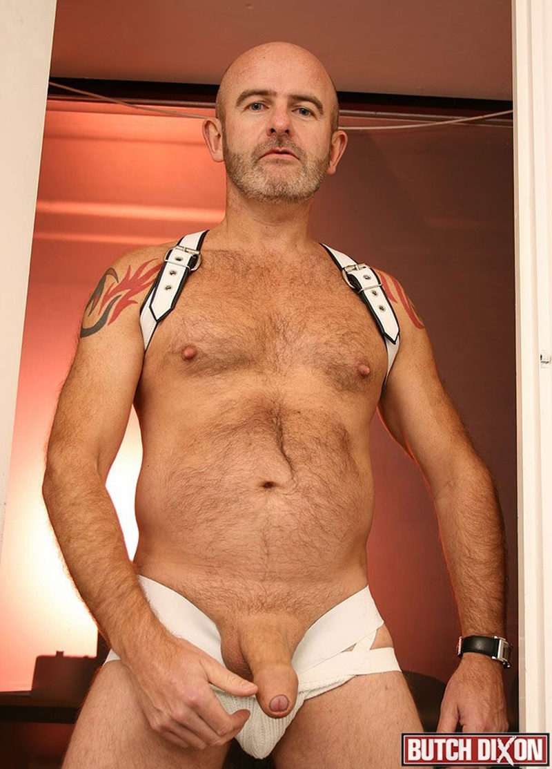 Daddy Olivers Foreskin Stretches Over The Length Of His -5551