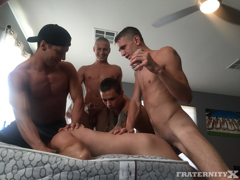 FraternityX throw his assdown