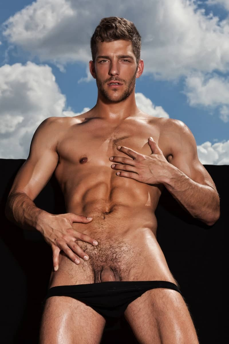Glorious sex god Ariel Vanean nude photographs by Joan Crisol