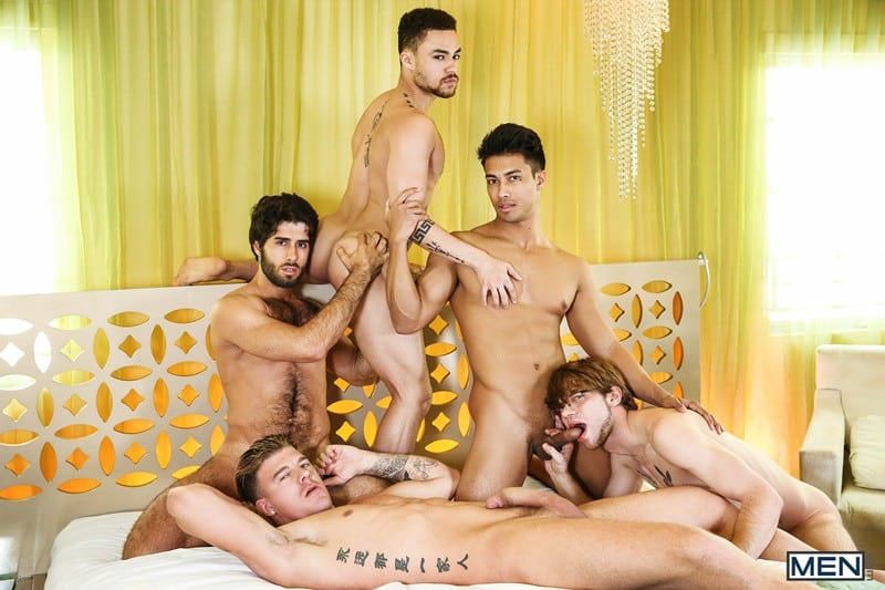 All-out orgy full of dick sucking Diego Sans, JJ Knight, Beaux Banks, Dalton Briggs and Ken Ott