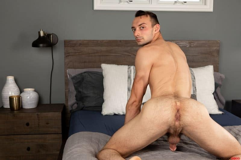 Sexy stepson Johnny B hot bare bubble ass raw fucked stepdad Trent Summers huge thick dick 005 gay porn pics - Sexy stepson Johnny B's hot bare bubble ass raw fucked by stepdad Trent Summers' huge thick dick