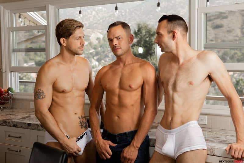 Sexy stepson Johnny B hot bare bubble ass raw fucked stepdad Trent Summers huge thick dick 009 gay porn pics - Sexy stepson Johnny B's hot bare bubble ass raw fucked by stepdad Trent Summers' huge thick dick