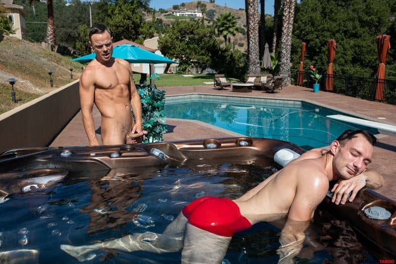 Sexy stepson Johnny B hot bare bubble ass raw fucked stepdad Trent Summers huge thick dick 010 gay porn pics - Sexy stepson Johnny B's hot bare bubble ass raw fucked by stepdad Trent Summers' huge thick dick