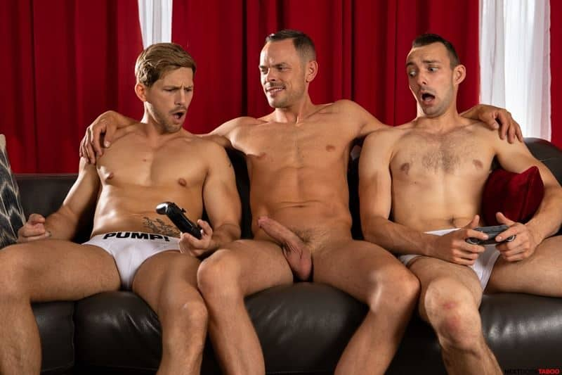 Sexy stepson Johnny B hot bare bubble ass raw fucked stepdad Trent Summers huge thick dick 011 gay porn pics - Sexy stepson Johnny B's hot bare bubble ass raw fucked by stepdad Trent Summers' huge thick dick