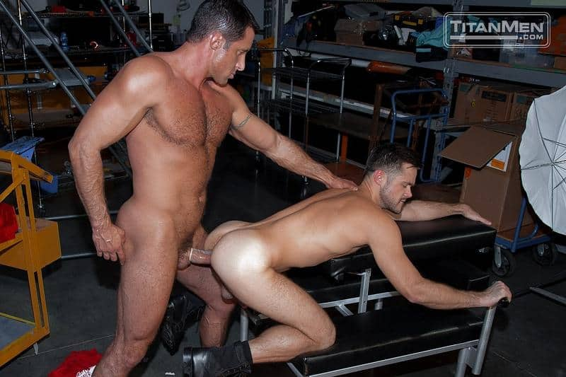Sexy hairy muscle hunk Mike DeMarko hot bubble ass fucked muscled hunk Nick Capra huge dick 1 gay porn pics - Sexy hairy muscle hunk Mike DeMarko's hot bubble ass fucked by muscled hunk Nick Capra's huge dick