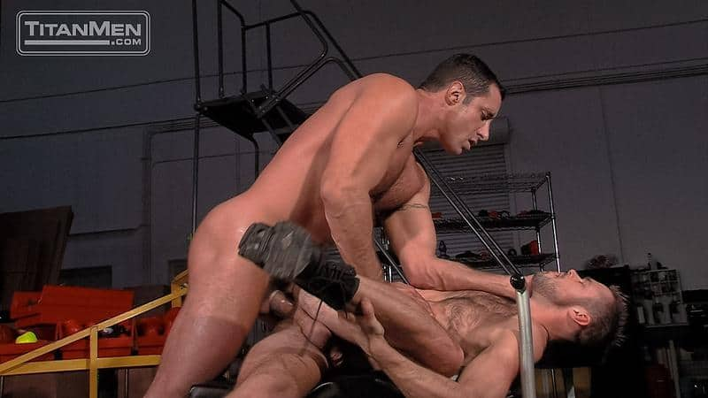 Sexy hairy muscle hunk Mike DeMarko hot bubble ass fucked muscled hunk Nick Capra huge dick 26 gay porn pics - Sexy hairy muscle hunk Mike DeMarko's hot bubble ass fucked by muscled hunk Nick Capra's huge dick