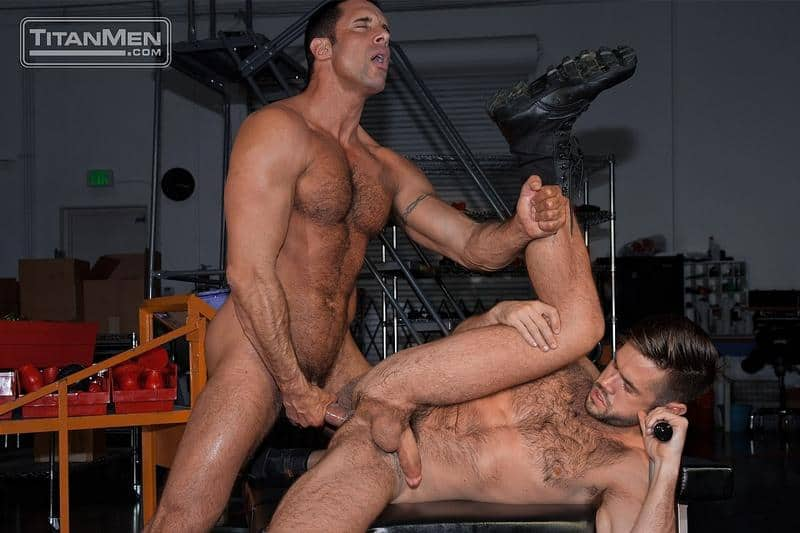 Sexy hairy muscle hunk Mike DeMarko hot bubble ass fucked muscled hunk Nick Capra huge dick 8 gay porn pics - Sexy hairy muscle hunk Mike DeMarko's hot bubble ass fucked by muscled hunk Nick Capra's huge dick