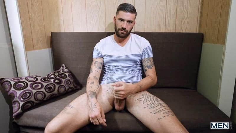 Hottie ripped young stud Ty Mitchell hot hole bare fucked tattooed hunk Chris Damned huge uncut cock 2 gay porn pics - Hottie ripped young stud Ty Mitchell's hot hole bare fucked by tattooed hunk Chris Damned's huge uncut cock