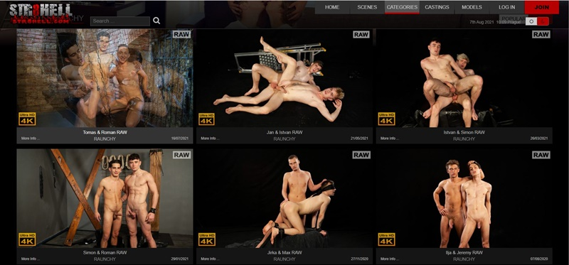 Raunchy STr8 Hell Honest Gay Porn Site Review - Str8 Hell Gay Porn Site Review