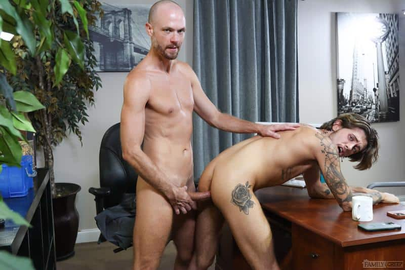 Sexy young stud Ryan Kneeds hot asshole bare fucked bald headed hunk Jake Lawrence Pride Studios 11 gay porn pics - Sexy young stud Ryan Kneeds's hot asshole bare fucked by bald headed hunk Jake Lawrence at Pride Studios